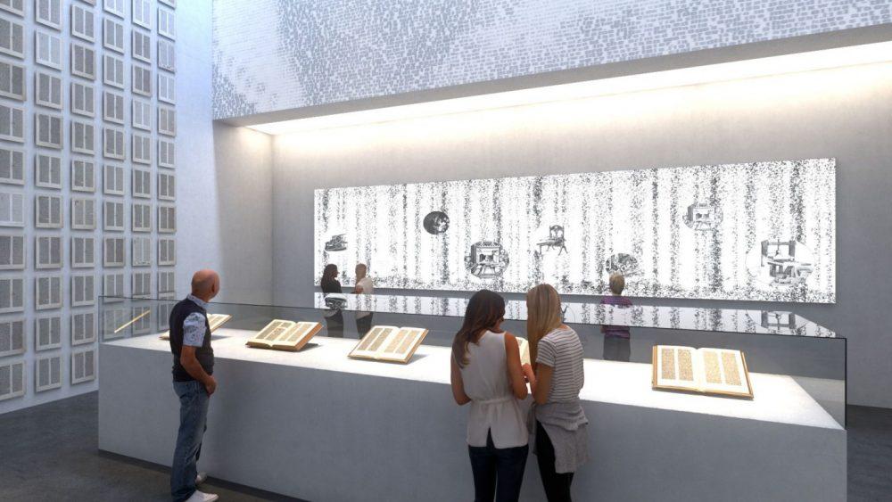 Innenansicht Gutenberg-Museum V (Stand Januar 2018) ©DFZ Architekten GmbH
